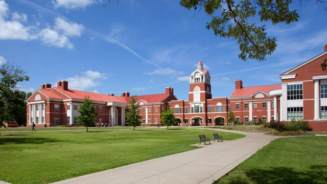 Image result for murray state campus science buildings