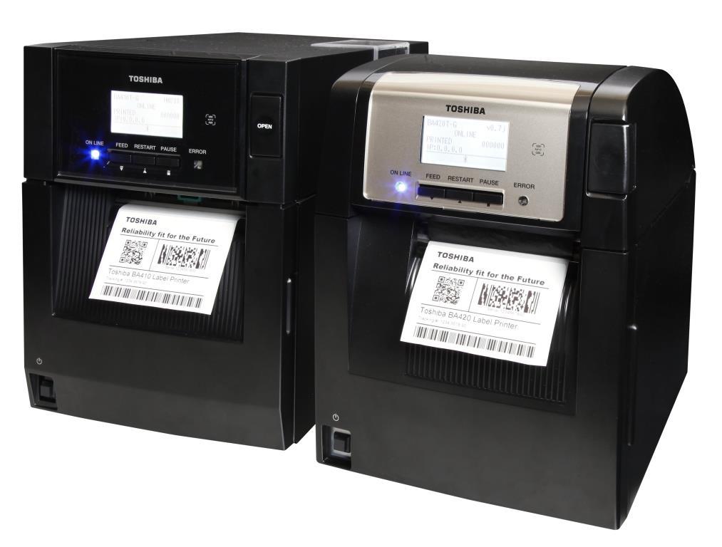 Stampamte BA400 Toshiba - RFID Global