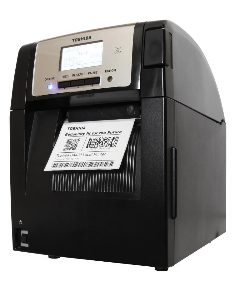 Stampante Toshiba BA420 - RFID Global