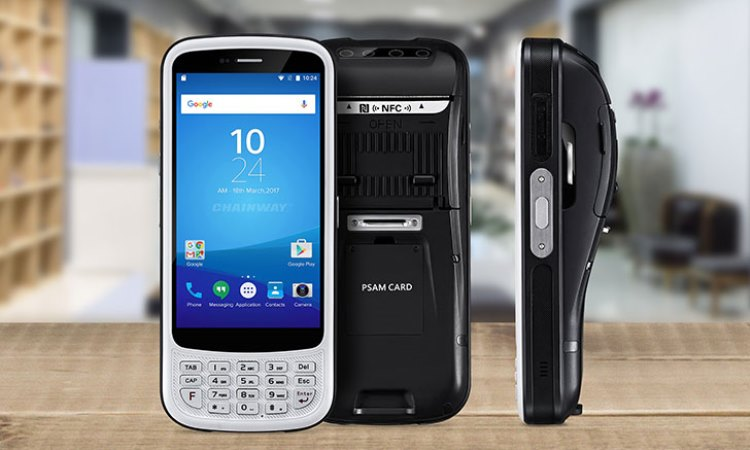 C75 - Android Rugged Mobile Computer con printer integrata