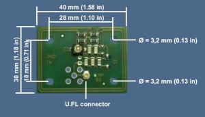 ISC.ANT40_30 Antenna OEM RFID HF
