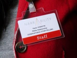 Narrability 2014: storytelling e tecnologia RFID