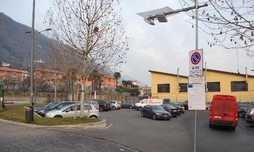 Park-ID al Comune di Sarnico - parcheggio con antenne RFID UHF