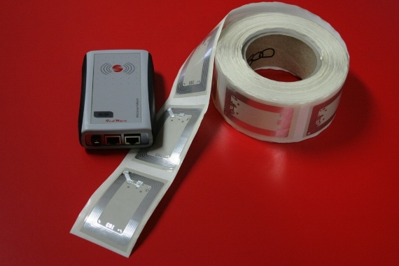 RED.PR80.FLY-E Contactless Reader RFID HF RedWave SmartFly Ethernet con wet Inlay RFID HF