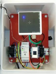 RFID HF controllo accessi sito Air Liquide