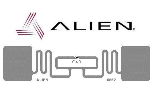 Alien ALN 9662 Short Inlay RFID UHF