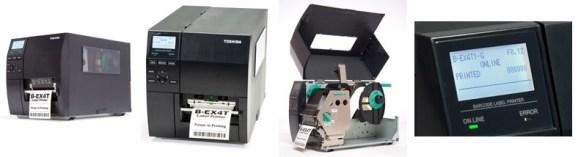 Stampante RFID Toshiba Tec B-EX4T Linea Industrial. Moduli RFID HF (Milti ISO) e RFID UHF EPC ISO 18000-6