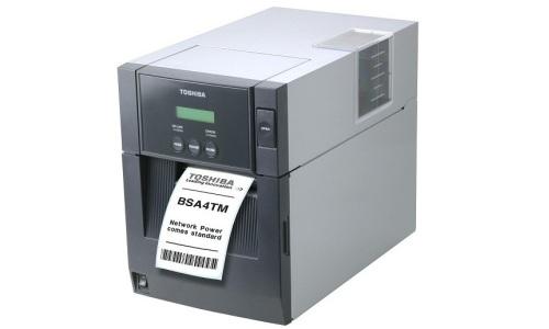 Stampante RFID ToshibaTec B-SA4TM Linea Office Metal. Moduli RFID HF (ISO 15693, ISO14443-A, ISO14443-B, Mifare, Calipso, NFC) e RFID UHF EPC ISO 18000-6