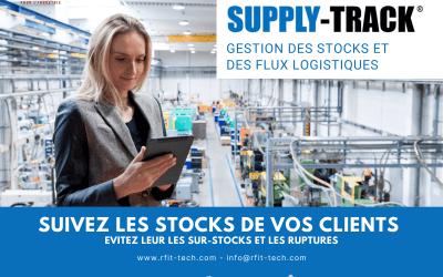 Nouveau dans la gestion des stocks : suivez vos stocks en temps réel chez vos clients et sur toute votre supply chain pour éviter les ruptures et les sur-stocks.