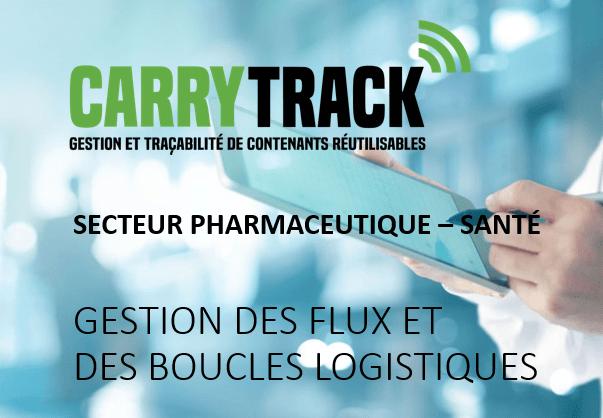 Solution de traçabilité des contenants et des flux logistiques pour le secteur de la santé – pharmacie