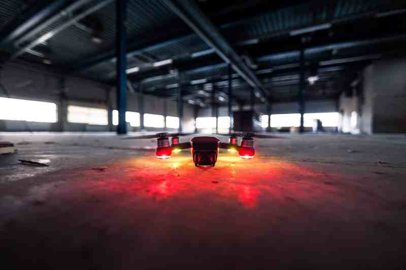 Construction drone technology