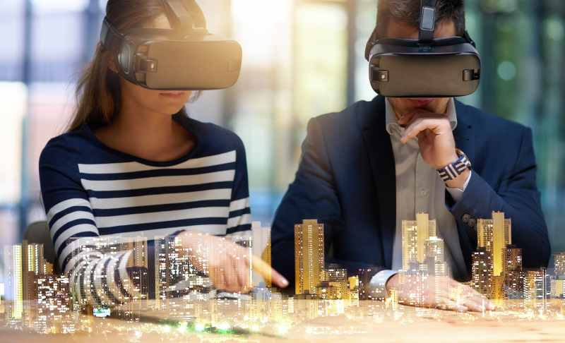 Office design AR and VR