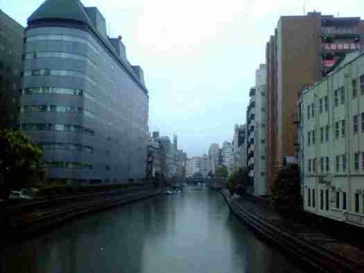 霊岸橋からの風景
