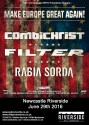 mega local - Combichrist and Filter on MEGA Tour