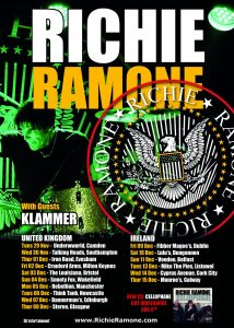 Richie Ramone Dec 2016 Tour Poster 214x300 - Richie Ramone returns