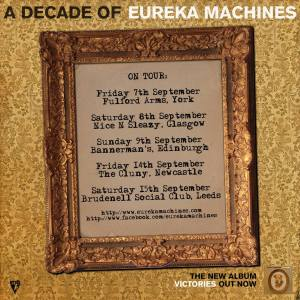 eureka machines 2018 tour
