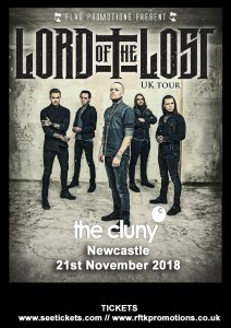 lord of the lost uk tour  newcastle