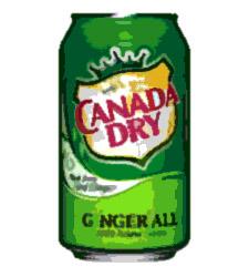 ジンジャーエールと言えば、お馴染みのカナダドライ。