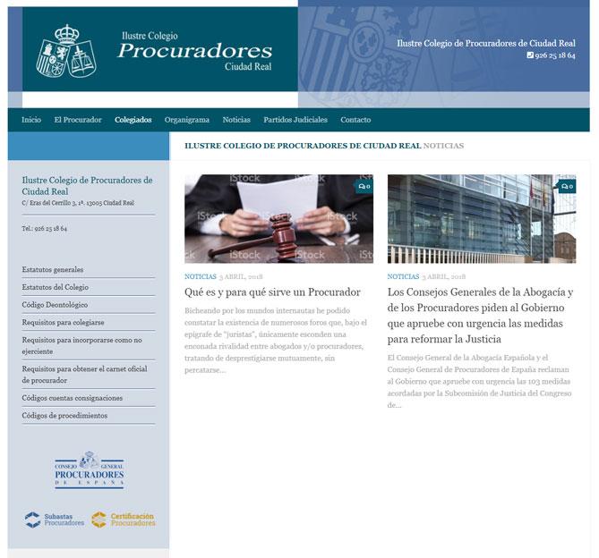 Ilustre Colegio de Procuradores de Ciudad Real