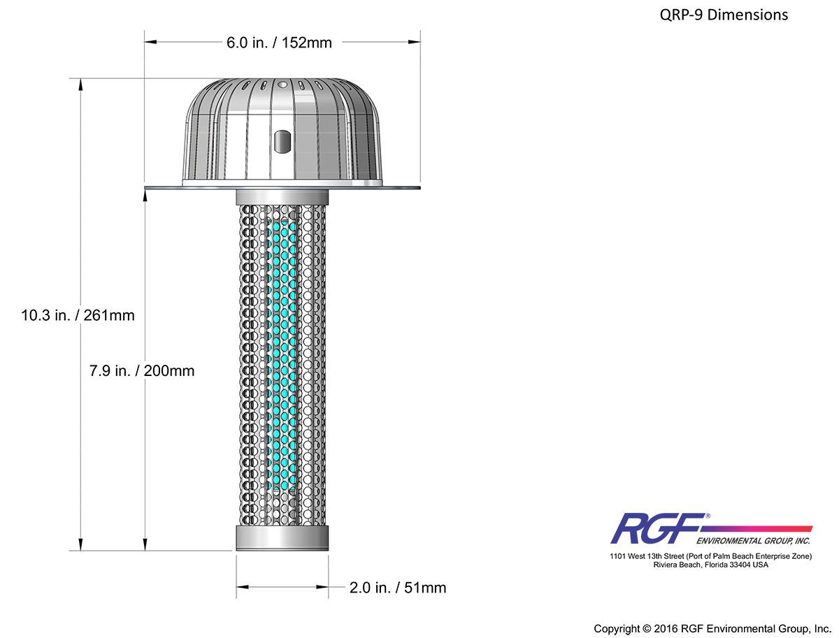 Guardian QR dimensions