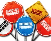 defective product d rendering rough street sign collection web