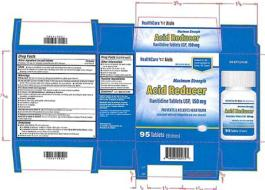 Ranitidine Medication Labels