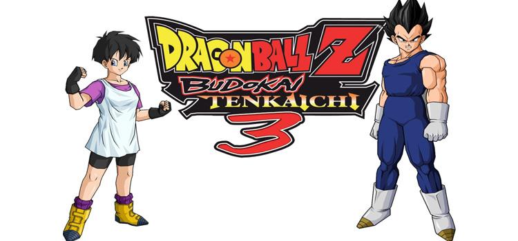 Dragon Ball Z Budokai Tenkaichi 3 Free Download PC Game