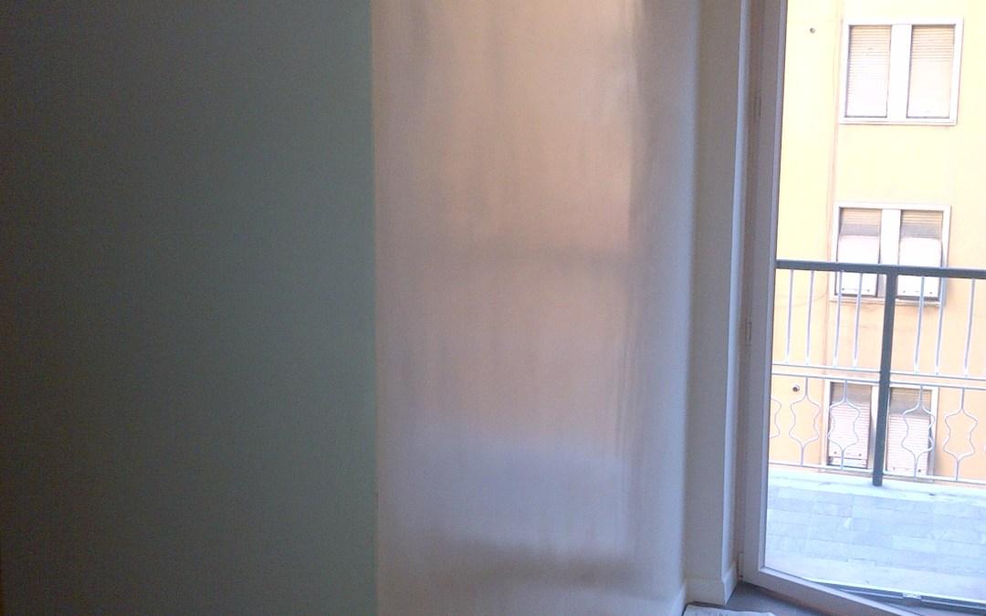 Pittura vetrificante in bagno e cucina