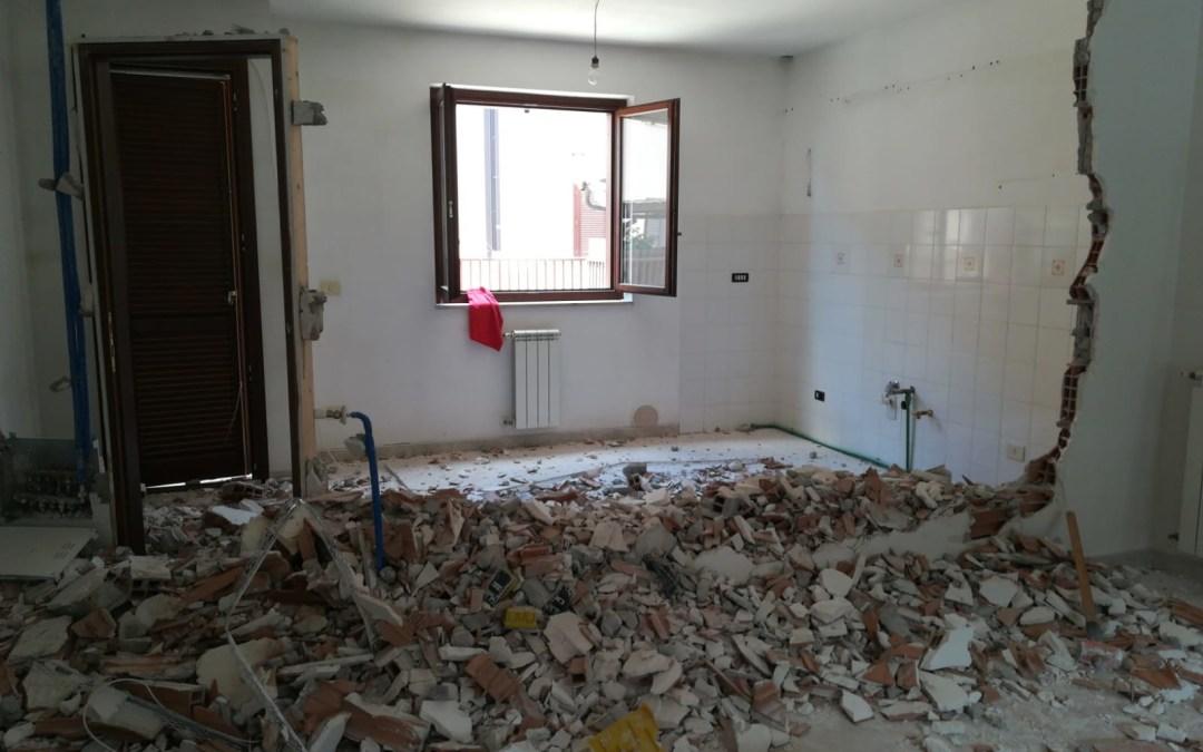 Iniziata una nuova commessa con ristrutturazione col Bonus Casa 50% + Ecobonus 110%