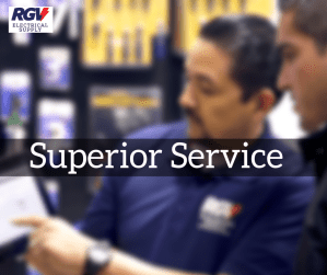 RGV Electrical Supply Provides Superior Service