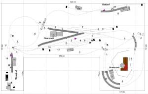 003 (Ebenen 1+2, Sichtbare Strecken)