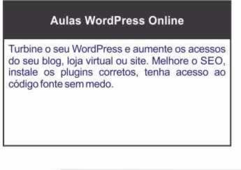 Aulas de WordPress Online