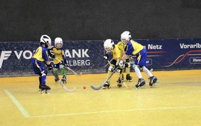 Dornbirn´s U9-Junioren matchen sich in Vordemwald