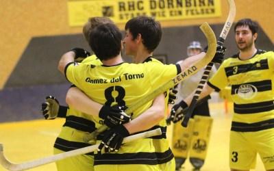 Dornbirn ringt Topfavorit Diessbach nieder und erzwingt Entscheidungsspiel um Finaleinzug