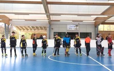 U15-Junioren starteten mit Sieg und Niederlage in die Meisterschaft