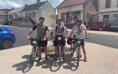 Der Weg ist das Ziel – Drei Rollhockeyaner mit dem Fahrrad auf Pilgerreise