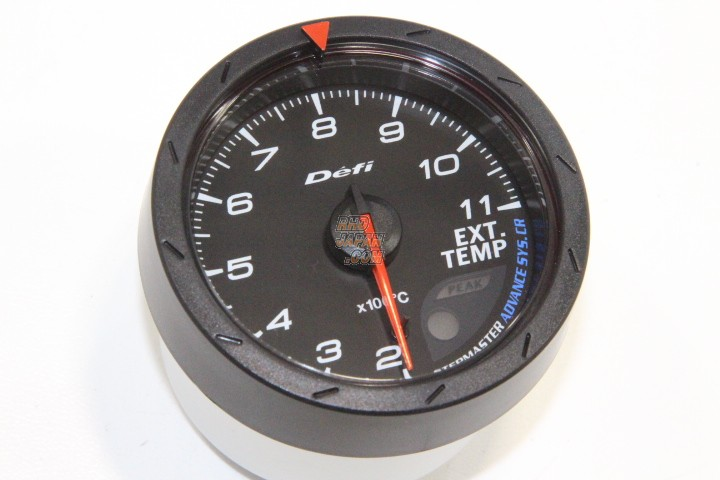 defi link advance cr exhaust temperature gauge 60mm white