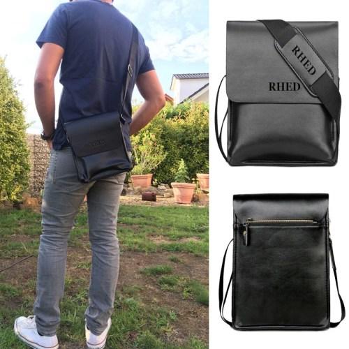 Herrentasche-Schultertasche-Herren-Umhängetasche-Männer-Tasche