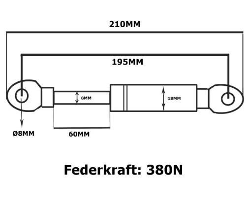 gasdruckfeder gasdruckdämpfer