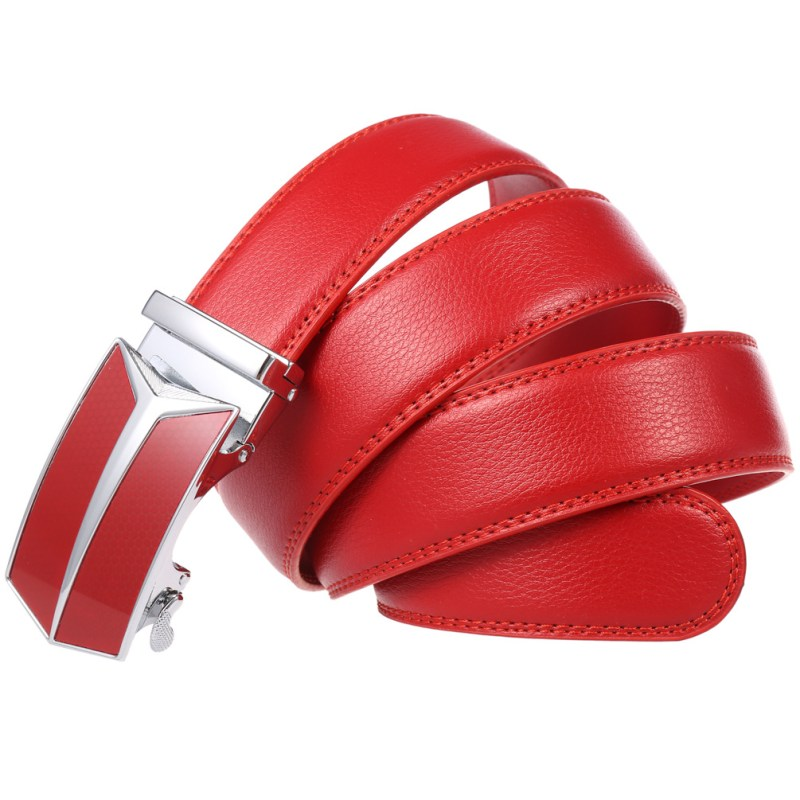 Rhed Automatik Gürtel Rot