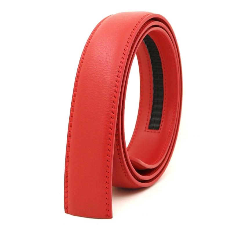 Herrengürtel Herren Gürtel Gürtelband Rot