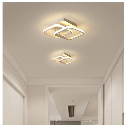 Deckenleuchte Deckenlampe SE-C1432-2BWH