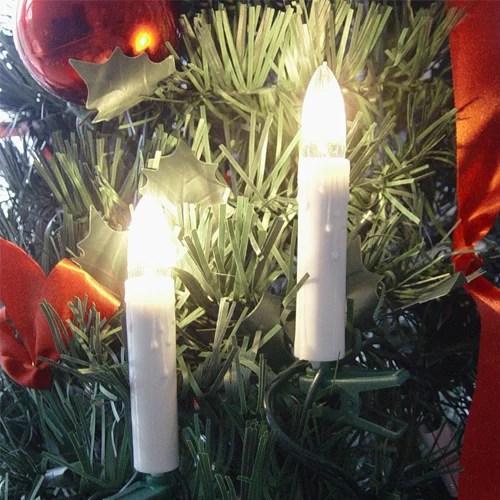 Weihnachtsbaumbeleuchtung, Weihnachtsbaumkerzen, Weihnachtskerzen verlängerbar