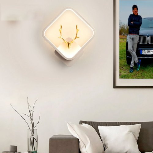 Wandlampe Wandleuchte SE-W4007-30WH