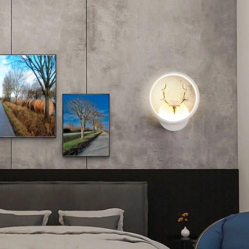 Wandlampe Wandleuchte SE-W4008-30WH