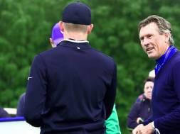 Promis und Golfer auf der European Open 2017