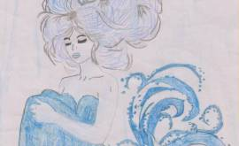 Meerjungfrau-Anna Lena Martinovic