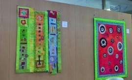 Patchwork-Art-Quilts von Heide Ulbrecht