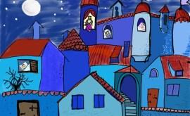 01400 62.061 Grafik schlafende Stadt von Martina Kölle(P000622614)