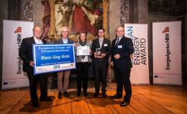 Verleihung des european energy award 2018
